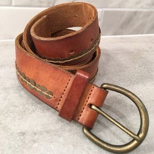 Abercrombie & Fitch Genuine Leather Belt Sz S